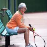 シニア世代とテニスのトレーニング