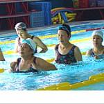 シニアと腰と水中運動