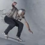 60歳のスケートボーダー