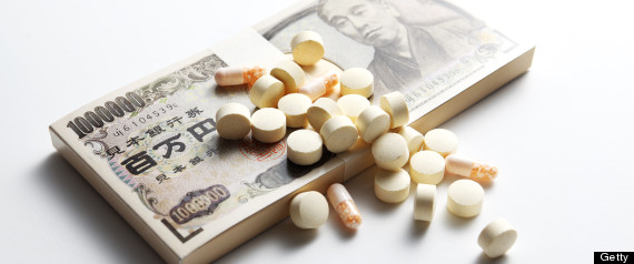 medicine image,drugs and money